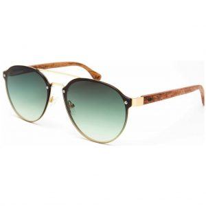 sunglasses-wooda-cala-roja-gold-green-side