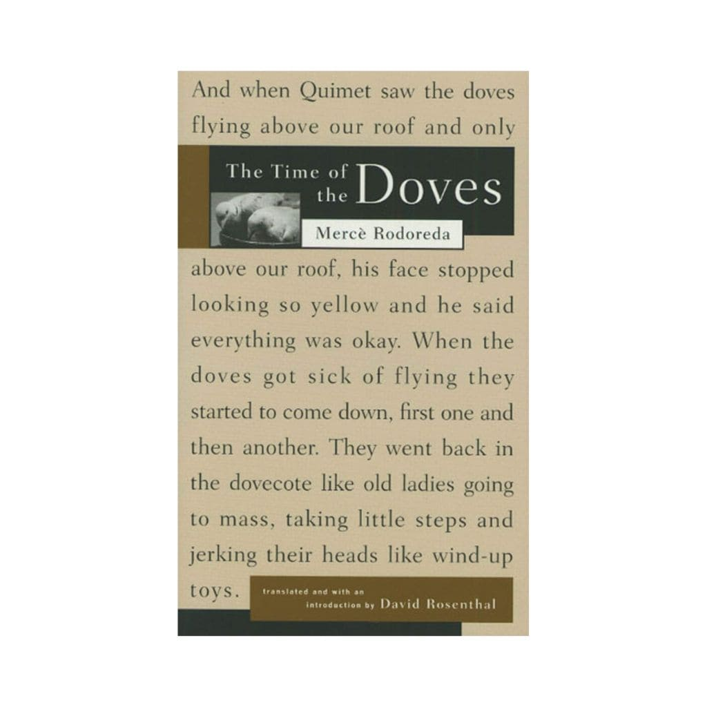 the-time-of-the-doves-rosenthal-barcelona-book