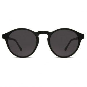 sunglasses-komono-devon-metal-black-front