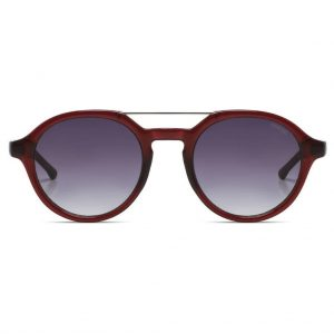sunglasses-komono-harper-burgundy-front