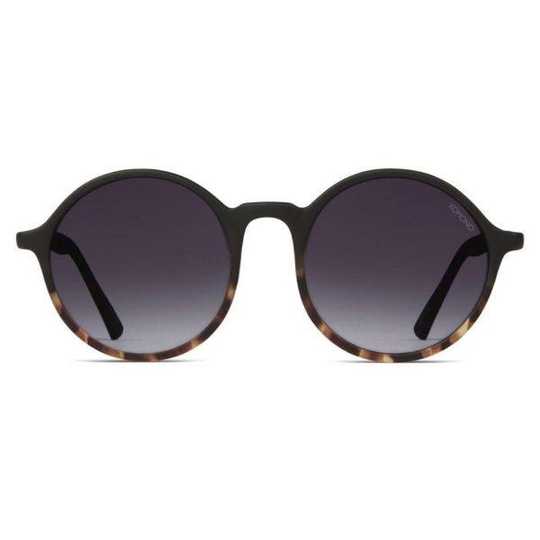 sunglasses-komono-madison-black-tortoise-front