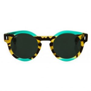 sunglasses-tiwi-saturne-II-bicolor-tortoise-green-front